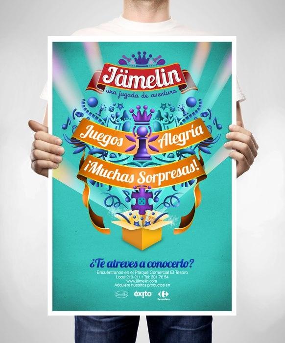 Afiche Diseño: D.G. Adalberto Arango / D.G. M. Carolina Montoya.