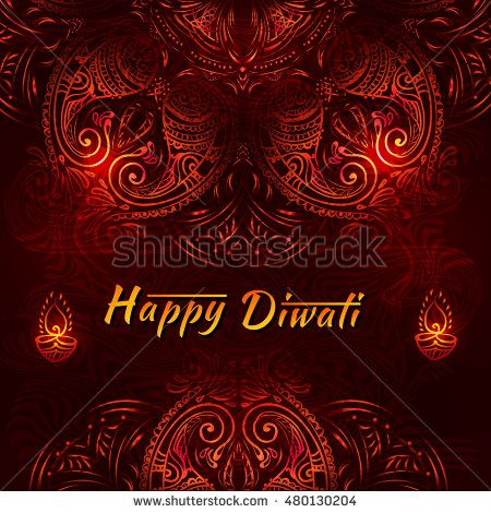 Happy Diwali festival - National Hindu celebration. Diwali festival celebration in India