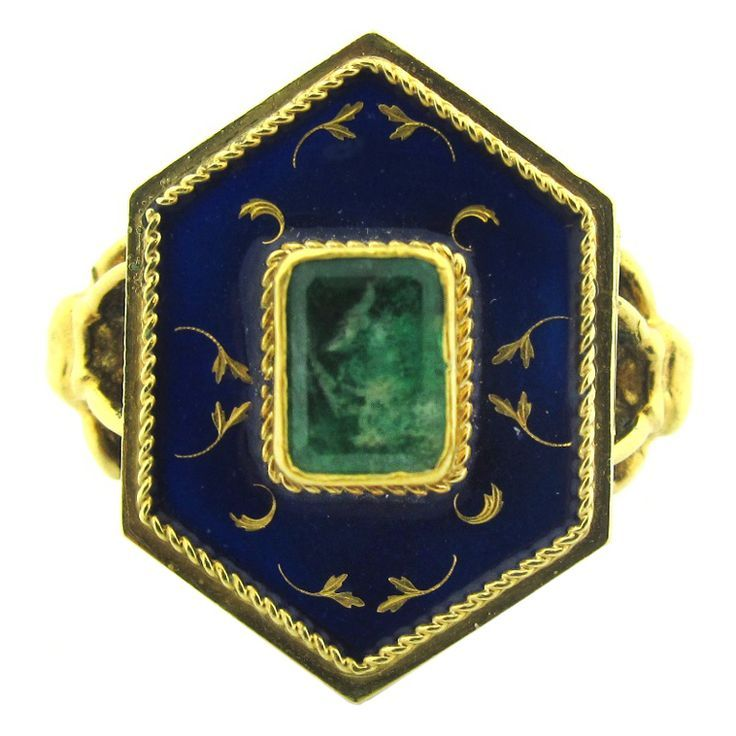 Very Rare Victorian Gold, Enamel
