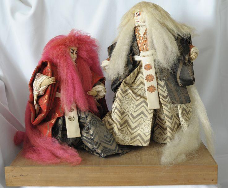 Japanese Handmade Kabuki Dolls Japanese Dolls