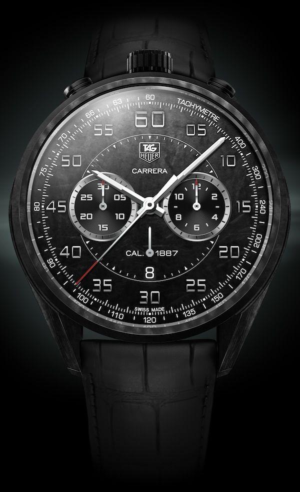 Tag Heuer Carrera CMC Concept Chronograph Watch