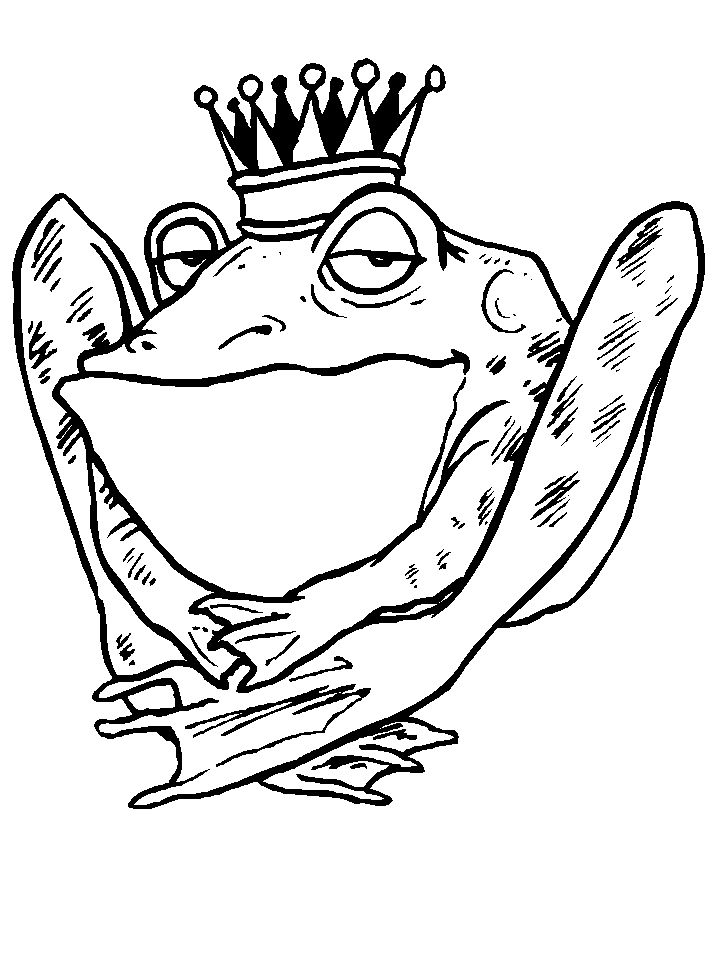 Printable Frogs 16 Animals Coloring Pages