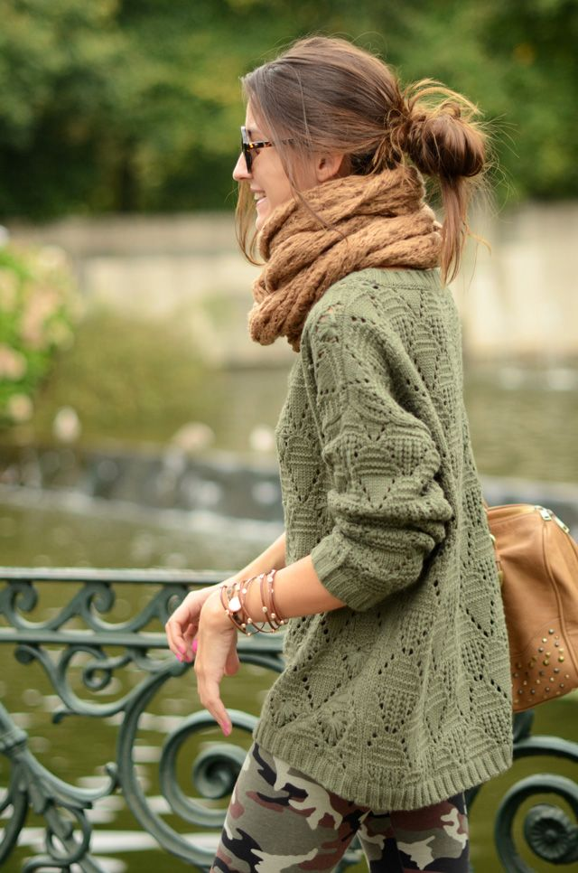 » green autumn by LovelyPepa. Very nice, especially if worn with a cargo skirt, for everyday. Comfortable, attractive and very good-looking!