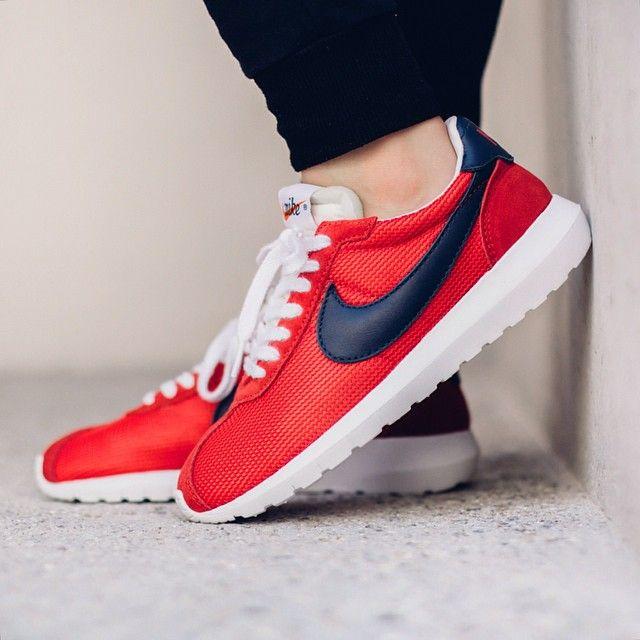 Nike Roshe Ld 1000 Sports Métallique Rouge