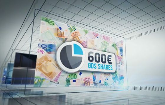 Shares promotion, Achieve Gold status and receive Shares in GDS (owner of ST) at a value of 600€. Accumulate 3000BV within your personal group within a weekly cycle and receive shares at a value of 600€. Accumulate 5000BV in your lesser team within a weekly cycle and receive shares at a value of 300€  www.SiteTalk.com/PlayAndEarn