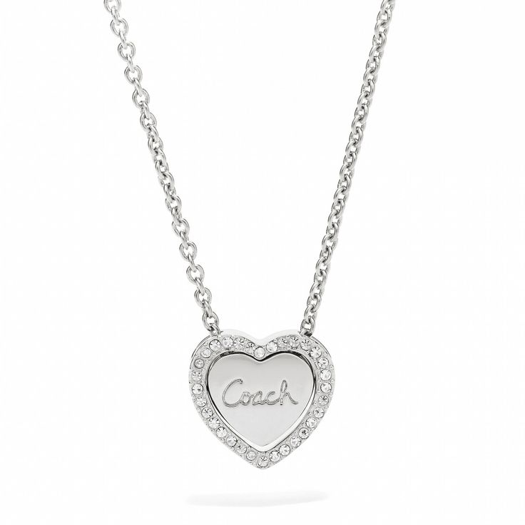 soooo pretttyyy! coach necklace! - I'm pretty sure that I NEED this!! :)