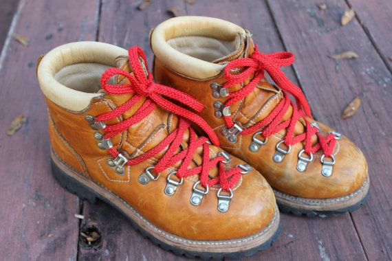 vintage jc penney classic mountaineering boots jc by brolliarfound, $50.00