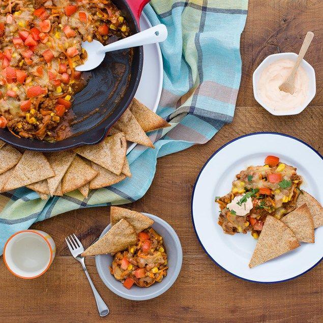 Enjoy this delicious lamb mince nacho mixture with plenty of hidden veg!