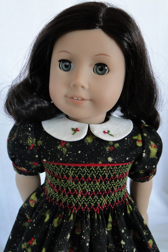 17 Best Images About 18 Inch Doll Smocking Hanky Dresses