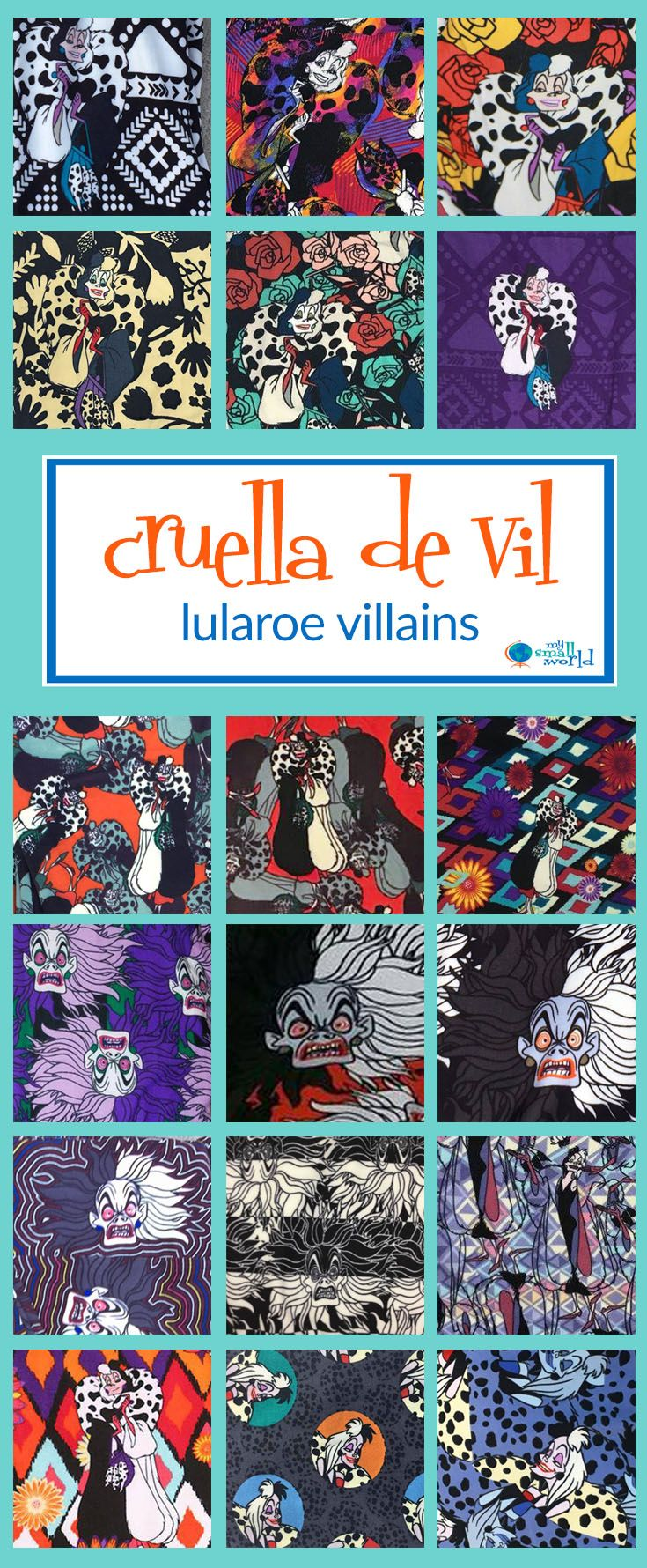 e52beb9c1ea4b LuLaRoe + Disney = a match made in heaven! And nothing is more deliciously  wicked than Disney Villain LuLaRoe prints - Maleficent, the Evil Queen,  Cruella, ...