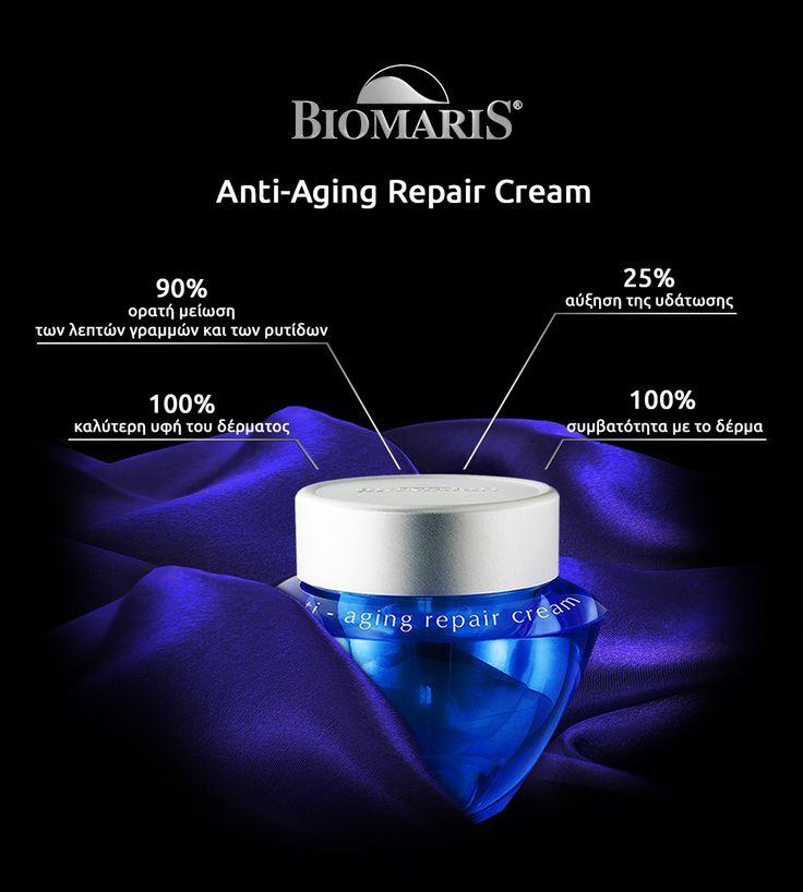 Anti-aging repair cream:  Available very soon, in new packaging!!!