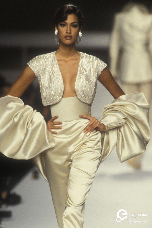 Yasmeen ghauri - Lanvin, Spring-Summer 1992, Couture