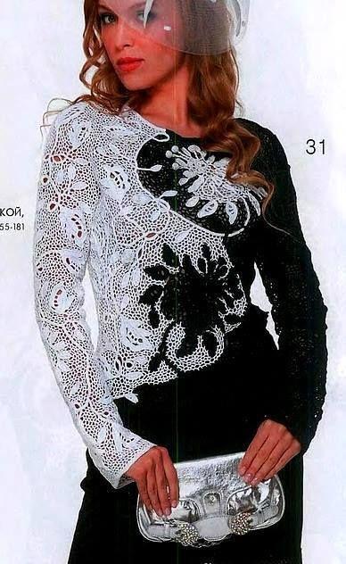 Платье из гипюр черно-белого цвета ирландского производства, великолепно на вечеринку