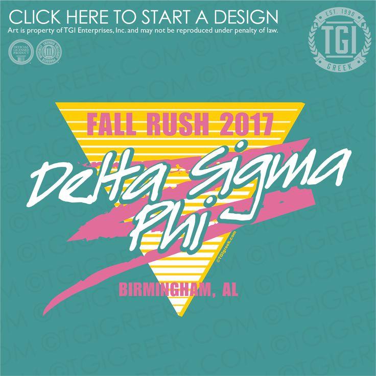 Delta Sigma Phi | ΔΣΦ | Fall Rush | Fraternity Rush | Rush Shirt | TGI Greek | Greek Apparel | Custom Apparel | Fraternity Tee Shirts | Fraternity T-shirts | Custom T-Shirts