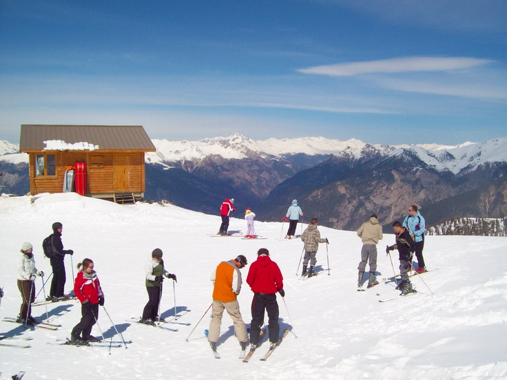 First #skiing #holiday in #Risoul, #France :-) LP