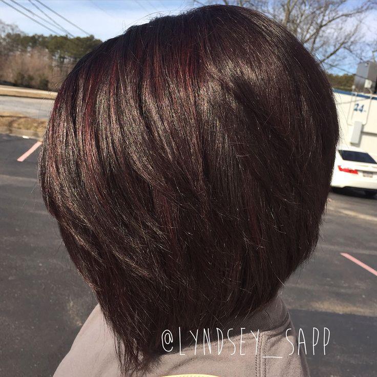 Dark Chocolate Covered Cherry Mywork Hair Lyndseysapp