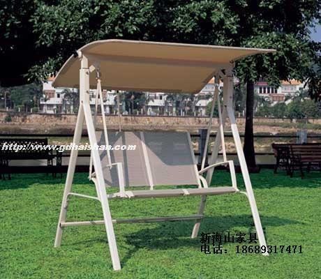 Открытый плетеное кресло-качалка качели подвесные корзины, кованое железо патио терраса сад Двухместный взрослых бытовой Teslin - Taobao
