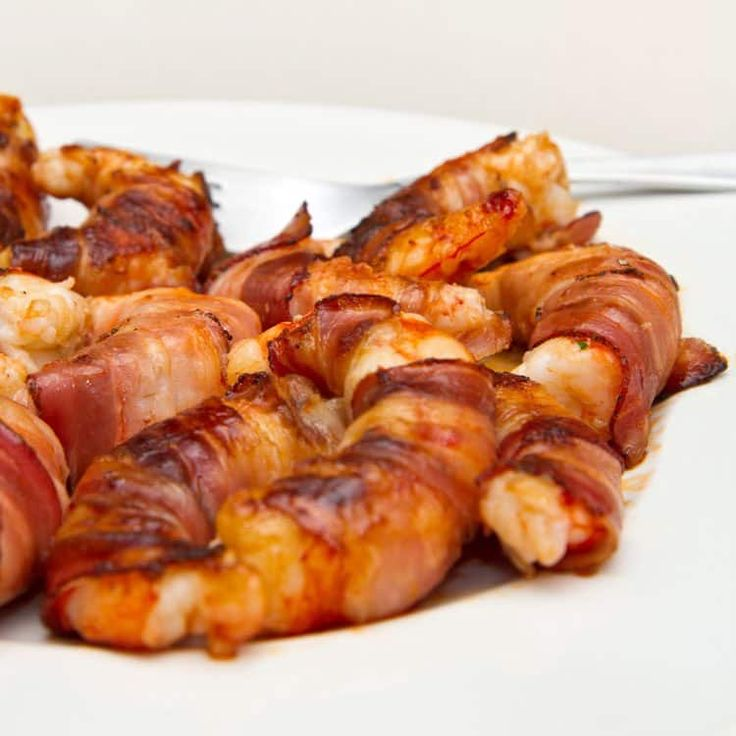 Double the protein, double the flavor with these Bacon Wrapped Shrimp treats!