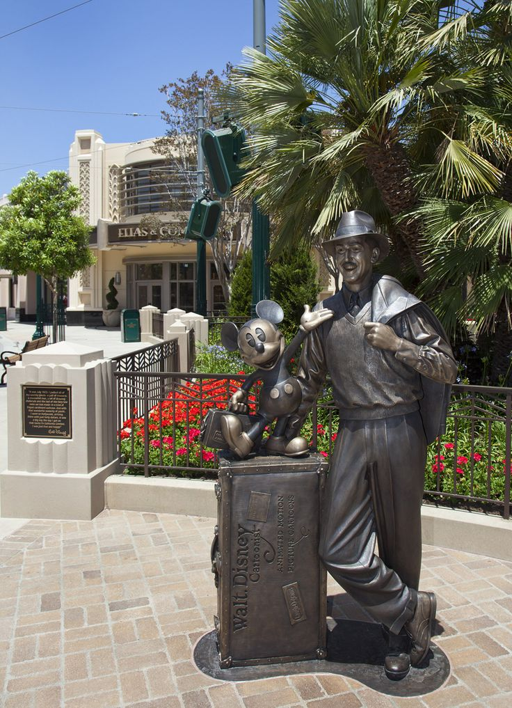 California Map Disney%0A  u    Storytellers u     Statue at Buena Vista Street at Disney California Adventure  Park