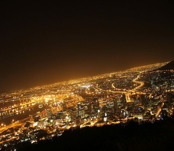 City by night...Cape Town