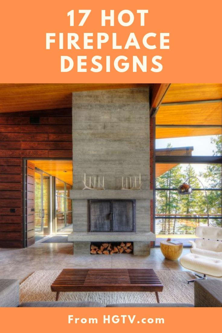 Fireplace Designs From Hgtv