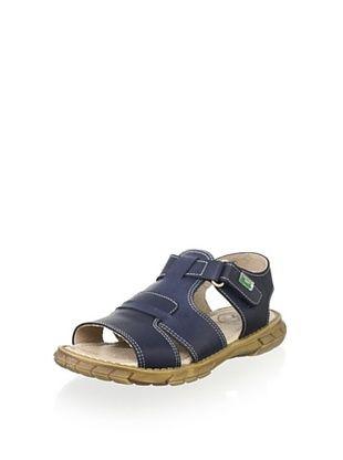51% OFF Gorila Kid's Leather Sandal (Blue)