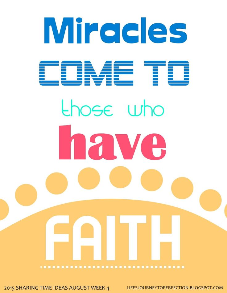 Journey to Faith