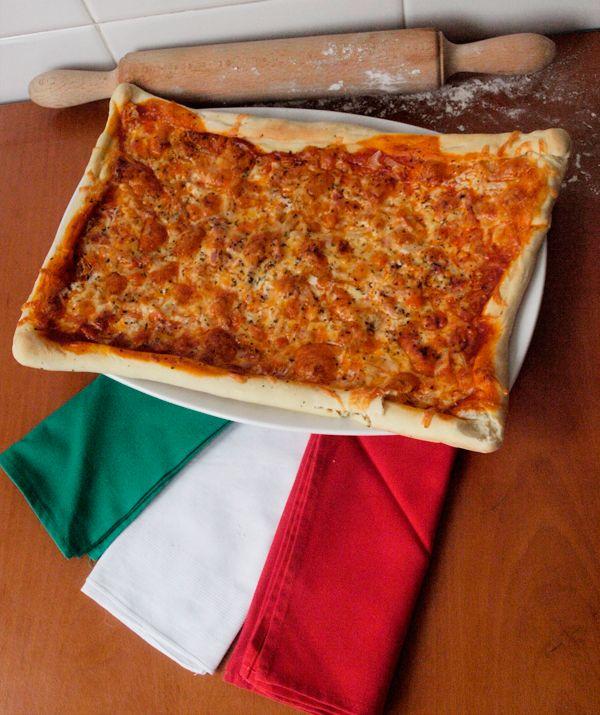 Dall'Italia, una pizza molto ricca