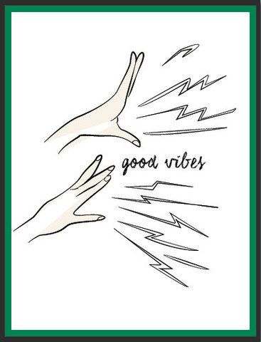 Good Vibes 9X12 Print by ByLucianaM on Etsy