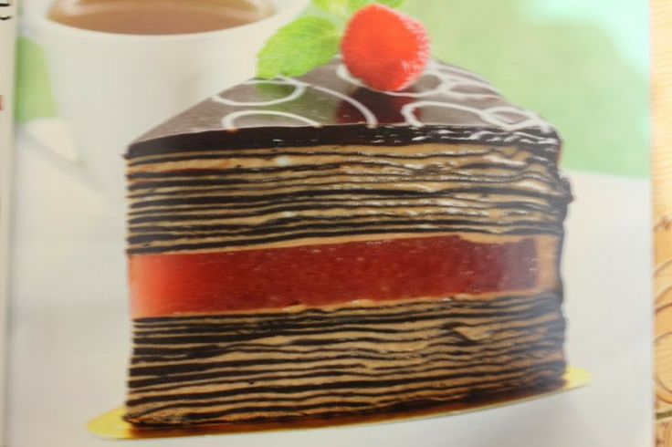 Resep Kue THOUSAND LAYER CHOCOLATE CAKE