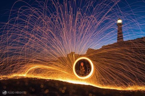 @liamwhopkinson shot this long exposure using burning steel wool and the effect is magical. via Canon on Instagram - #photographer #photography #photo #instapic #instagram #photofreak #photolover #nikon #canon #leica #hasselblad #polaroid #shutterbug #camera #dslr #visualarts #inspiration #artistic #creative #creativity