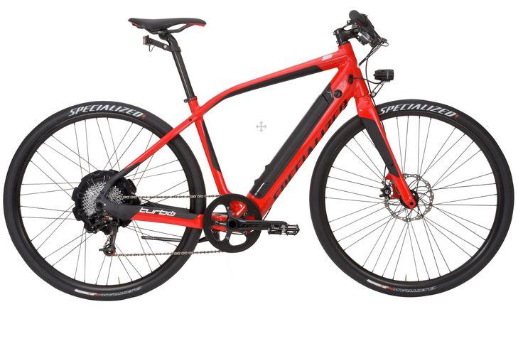 Specialized Turbo. Le futur des vélos électriques. 45km/hre de vitesse maximale.