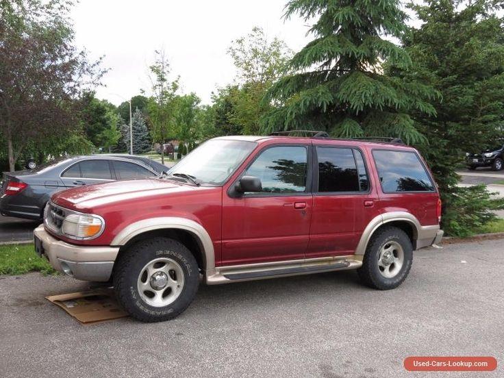 Ford: Explorer Eddie Baurer #ford #explorer #forsale #canada