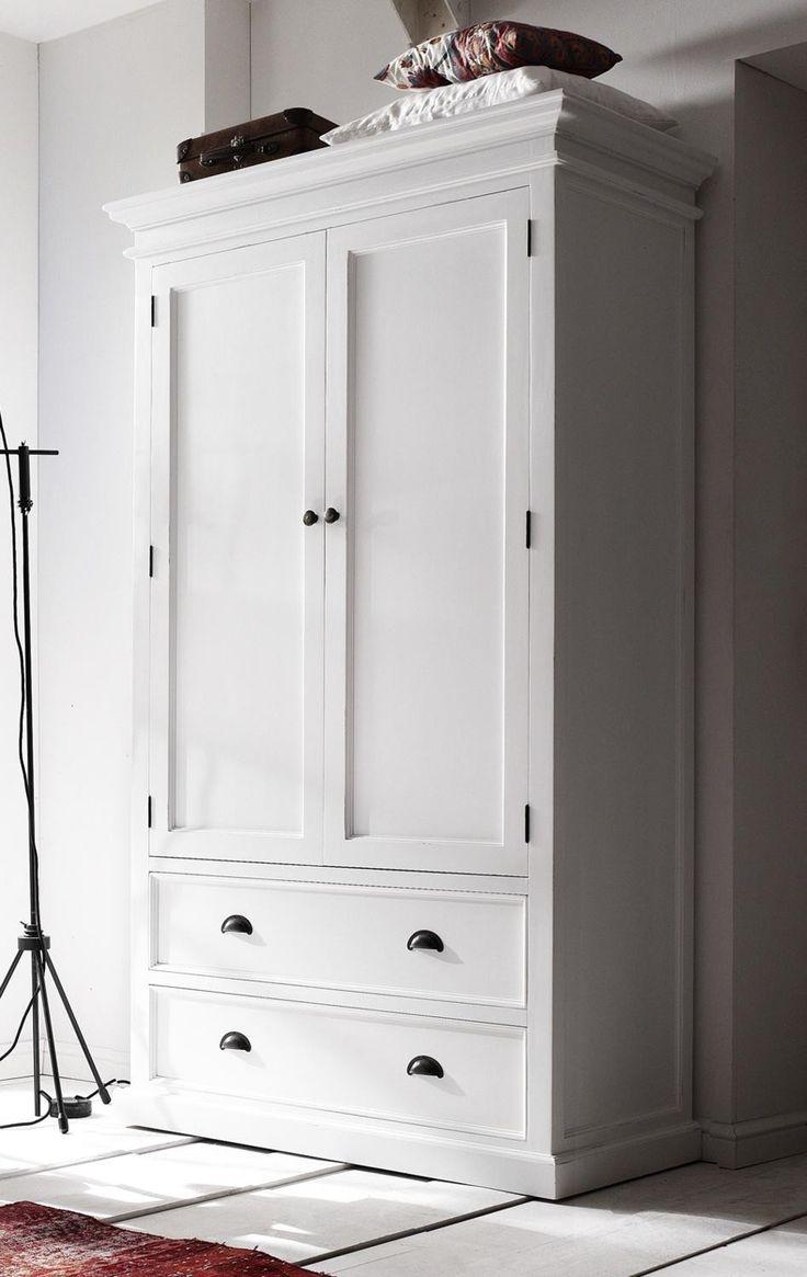 Die besten 20 Kleiderschrank landhausstil weiß Ideen auf