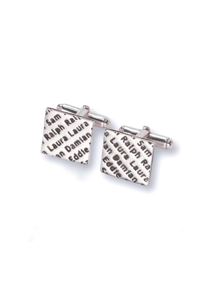 Show pride in your tribe! Showcase the names of your family or group of friends on a Smallprint Tribe fine silver pendant or pair of cufflinks. These gorgeous keepsakes are a fun and funky way of keeping your loved ones close to you at all times.