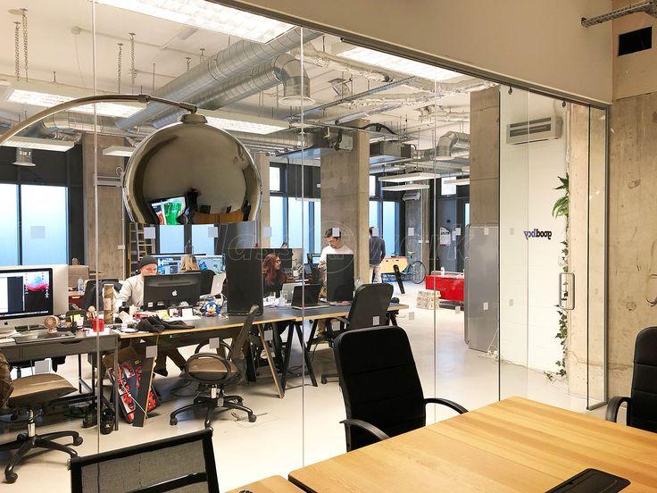 Die besten 25+ Bürotrennwände aus Glas Ideen auf Pinterest Glas - offene küche wohnzimmer abtrennen