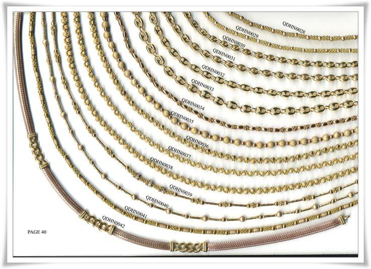 brass chain 40