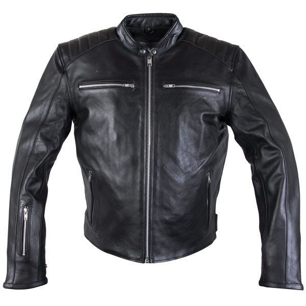 Xelement 630 Recoil Mens Black Premium soft Cowhide Leather Motorcycle Jacket #Xelement #Motorcycle