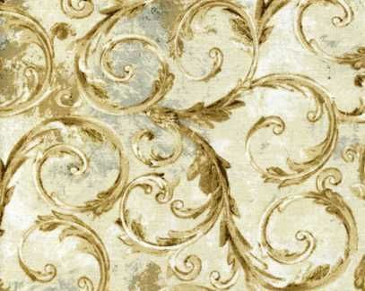 Baroque Scroll Novelty