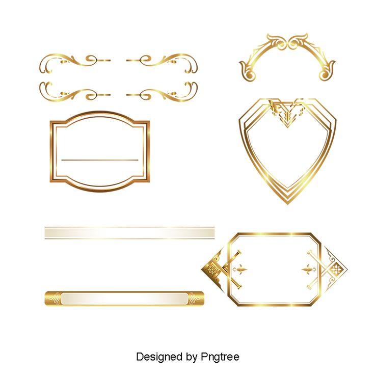 Golden Texture Decorative Patterns Classical Pattern High Grade Pattern Decorative Vector Design Vector Frame Vector Gol Gold Clipart Gold Pattern Frame Design