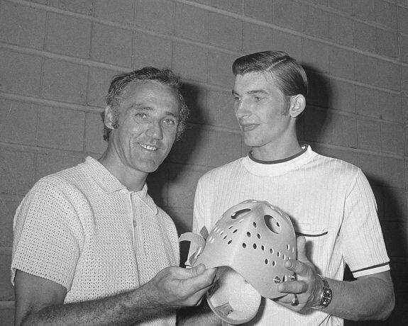 Jacques Plante and Vladislav Tretiak   Hockey