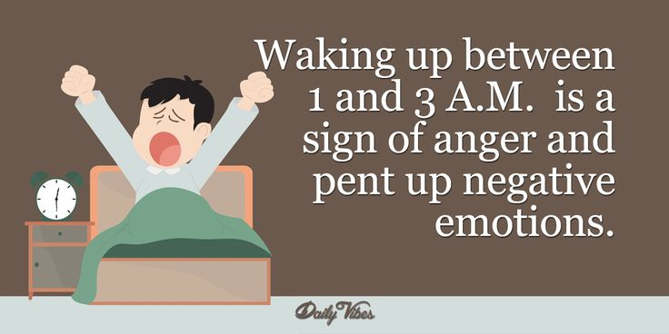Do you wake up at the same time every night? Find out what it means and how you can stop it from happening.