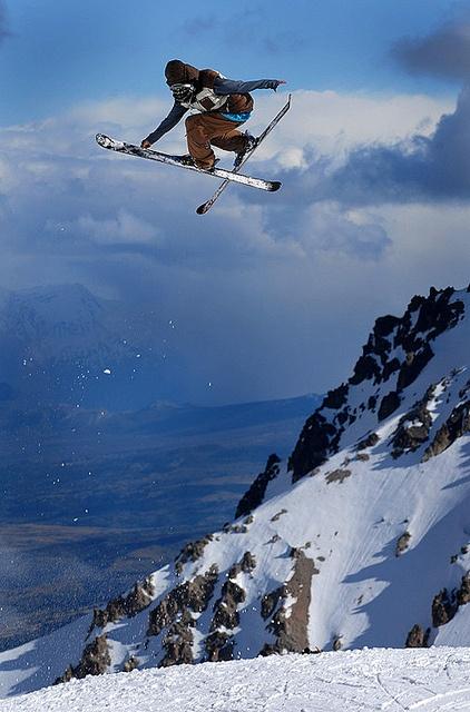 Ski en La Hoya, Esquel - Chubut, Argentina