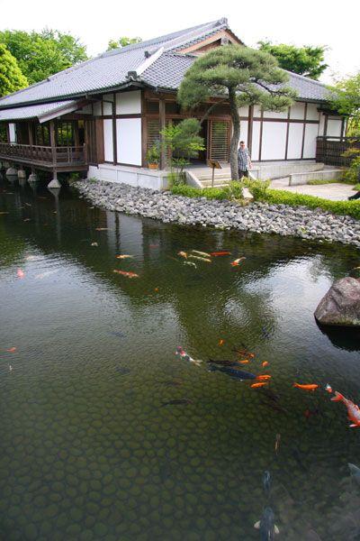 Japanese Garden at Himeji Castle (Hyogo, Japan)|姫路城