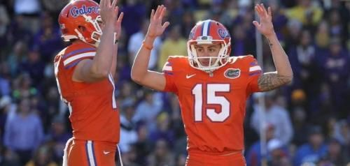 Kicker Eddy Pineiro recently showed off his range for Florida coach Jim McElwain, making an 81-yard field goal.