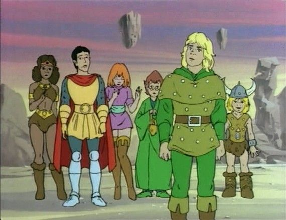 Top 10 1980's Cartoons That Still Need To Be Made Into Live Action Films 8.  Dungeons and Dragons