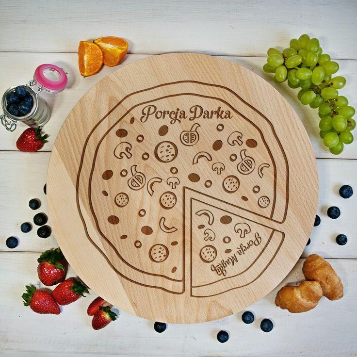 Wszyscy tak bardzo uwielbiamy pizzę, że często dochodzi do kłótni o ostatni kawałek, nawet między najbliższymi. Nasza deska obrotowa zakończy ten pr...