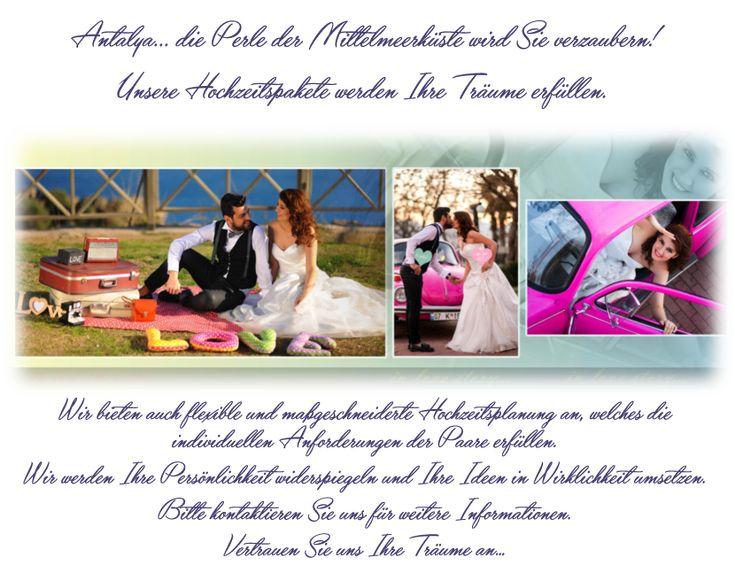 Hochzeitsplaner Türkei Antalya