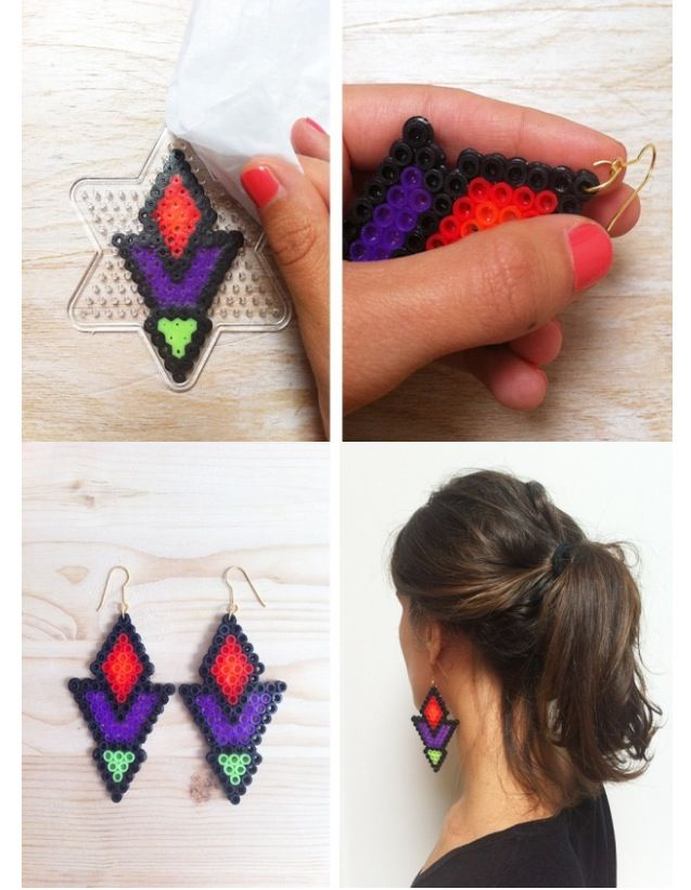 DIY beads earring