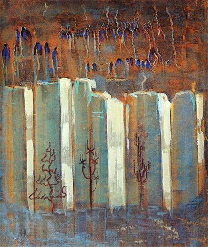 Winter (III) - Mikalojus Ciurlionis